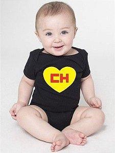 Body Bebê Chaves Chapolim Seriado - Roupinhas Macacão Infantil Bodies Roupa Manga Curta Menino Menina Personalizados