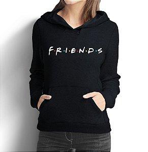 Moletom Feminino Friends Séries Seriados - Moletons Personalizados Blusa/ Casacos Baratos/ Blusão/ Jaqueta Canguru