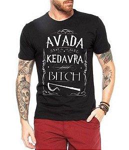 Camiseta Masculina Avada Kedavra Harry Potter Filmes - Personalizadas/ Customizadas/ Estampadas/ Camiseteria/ Estamparia/ Estampar/ Personalizar/ Customizar/ Criar/ Camisa Blusas Baratas Modelos Legais Loja Online