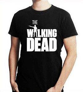 Camiseta Masculina The Walking Dead Séries E Seriados - Personalizadas/ Customizadas/ Estampadas/ Camiseteria/ Estamparia/ Estampar/ Personalizar/ Customizar/ Criar/ Camisa Blusas Baratas Modelos Legais Loja Online