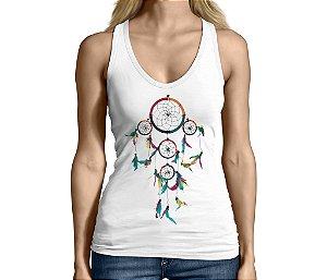 Camiseta Regata Feminina Filtro dos Sonhos  - Personalizadas/ Customizadas/ Camiseteria/ Camisa T-shirts Baratas Modelos Legais Loja Online
