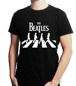 Camiseta Masculina The Beatles Banda - Personalizadas/ Customizadas/ Estampadas/ Camiseteria/ Estamparia/ Estampar/ Personalizar/ Customizar/ Criar/ Camisa Blusas Baratas Modelos Legais Loja Online