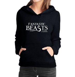 Moletom Feminino Harry Potter 2 Animais Fantásticos e Onde Habitam- Moletons Personalizados Blusa/ Casacos Baratos/ Blusão/ Jaqueta Canguru