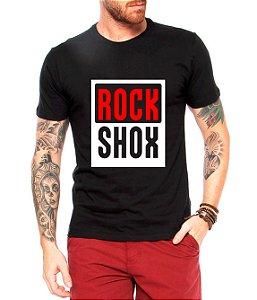 Camiseta Masculina Rock Shox Sram Truvativ - Ciclismo Ciclo Mountain Bike Cicloturismo Urbano Bicicleta Ciclocross
