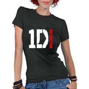 Camiseta Feminina Banda One 1 Direction - Personalizadas/ Customizadas/ Estampadas/ Camiseteria/ Estamparia/ Estampar/ Personalizar/ Customizar/ Criar/ Camisa Blusas Baratas Modelos Legais Loja Online