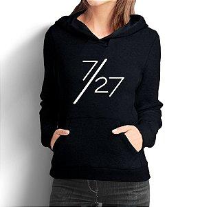 Moletom Feminino Fifth Harmony 7 27 Banda Harmonizer 5H - Moletons Personalizados Blusa/ Casacos Baratos/ Blusão/ Canguru