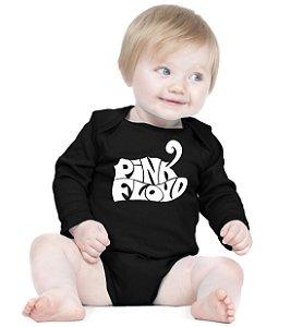 Body Bebê Banda Rock Pink Floyd - Roupinhas Macacão Infantil Bodies Roupa Manga Longa Menino Menina Personalizados