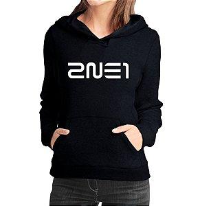 Moletom Feminino Kpop Banda 2NE1 K-pop - Moletons Blusa de Frio Casacos Baratos Blusão Canguru Loja Online