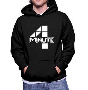 Moletom Masculino Kpop Banda 4 Four Minute K-pop - Moletons Blusa de Frio Casacos Baratos Blusão Canguru Loja Online