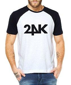 Camiseta Masculina Kpop Banda 24K Blusa Raglan - Estampadas Camisa Blusas Baratas Modelos Legais Loja Online