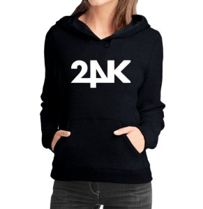 Moletom Feminino Kpop Banda 24K K-pop - Moletons Blusa de Frio Casacos Baratos Blusão Canguru Loja Online