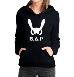 Moletom Feminino Kpop Banda B.A.P K-pop - Moletons Blusa de Frio Casacos Baratos Blusão Canguru Loja Online