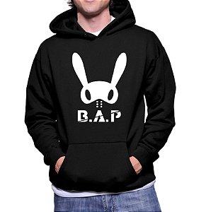 Moletom Masculino Kpop Banda B.A.P K-pop - Moletons Blusa de Frio Casacos Baratos Blusão Canguru Loja Online