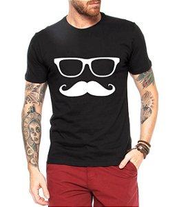 Camiseta Masculina Mustache Engraçadas Divertidas - Personalizadas/ Customizadas/ Estampadas/ Camiseteria/ Estamparia/ Estampar/ Personalizar/ Customizar/ Criar/ Camisa Blusas Baratas Modelos Legais Loja Online