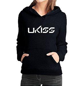 Moletom Feminino Kpop Banda Ukiss K-pop - Moletons Blusa de Frio Casacos Baratos Blusão Canguru Loja Online