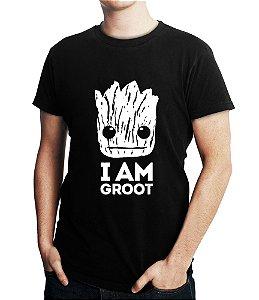 Camiseta Guardiões da Galáxia Super Heróis Groot Masculina - Personalizadas/ Customizadas/ Estampadas/ Camiseteria/ Estamparia/ Estampar/ Personalizar/ Customizar/ Criar/ Camisa Blusas Baratas Modelos Legais Loja Online