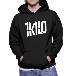 Casaco 1 kilo Blusa Moletom Canguru Banda Musica Hip Hop Rapper - Moletons  Personalizados Blusa  82237595bc0