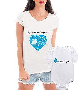 Camiseta Blusa e Body Tal Mãe Tal Filho Meu Filho Me Completa - Personalizadas/ Customizadas/ Estampadas/ Camiseteria/ Estamparia/ Estampar/ Personalizar/ Customizar/ Criar/ Camisa Blusas Baratas Modelos Legais Loja Online