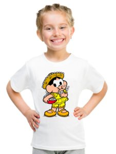 Camiseta Infantil Menina Magali Desenho - Personalizadas/ Customizadas/ Estampadas/ Camiseteria/ Estamparia/ Estampar/ Personalizar/ Customizar/ Criar/ Camisa Blusas Baratas Modelos Legais Loja Online