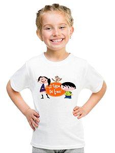 Camiseta Infantil Menina Show Da Luna Desenho - Personalizadas/ Customizadas/ Estampadas/ Camiseteria/ Estamparia/ Estampar/ Personalizar/ Customizar/ Criar/ Camisa Blusas Baratas Modelos Legais Loja Online