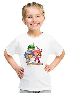 Camiseta Infantil Menina Team Umizoomi Desenho - Personalizadas/ Customizadas/ Estampadas/ Camiseteria/ Estamparia/ Estampar/ Personalizar/ Customizar/ Criar/ Camisa Blusas Baratas Modelos Legais Loja Online