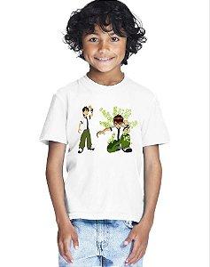 Camiseta Infantil Menino Filme Desenho Ben 10 - Personalizadas/ Customizadas/ Estampadas/ Camiseteria/ Estamparia/ Estampar/ Personalizar/ Customizar/ Criar/ Camisa Blusas Baratas Modelos Legais Loja Online
