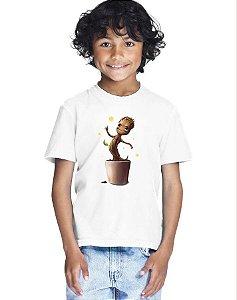 Camiseta Infantil Menino Baby Groot Guardiões Da Galaxia - Personalizadas/ Customizadas/ Estampadas/ Camiseteria/ Estamparia/ Estampar/ Personalizar/ Customizar/ Criar/ Camisa Blusas Baratas Modelos Legais Loja Online