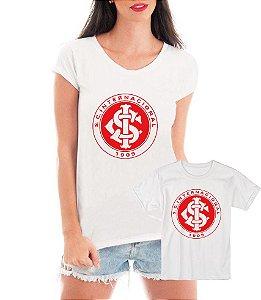 Camisetas Tal Mãe Tal Filha ou Filho Inter Time Futebol - Personalizadas/ Customizadas/ Estampadas/ Camiseteria/ Estamparia/ Estampar/ Personalizar/ Customizar/ Criar/ Camisa Blusas Baratas Modelos Legais Loja Online