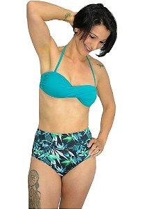 Biquíni Hot Pants Retrô Estampado Feminino Bikinis Baratos e Estilosos
