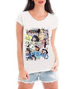Camiseta Feminina Tshirt Blusa Feminina Melanie Martinez Cry Baby  - Personalizada/ Estampadas/ Camiseteria/ Estamparia/ Estampar/ Personalizar/ Customizar/ Criar/ Camisa T-shirts Blusas Baratas Modelos Legais Loja Online