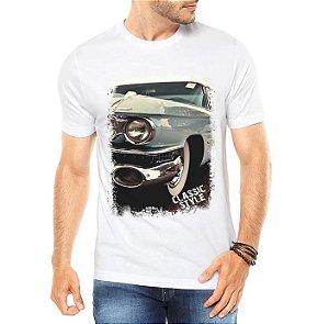 Camiseta Masculina Carros Antigos Classic Style  - Personalizadas/ Customizadas/ Estampadas/ Camiseteria/ Estamparia/ Estampar/ Personalizar/ Customizar/ Criar/ Camisa Blusas Baratas Modelos Legais Loja Online