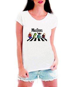 Blusa Feminina Branca Mestre Kame Yoda Mestre Ancião Dohko Mestre dos Magos Camiseta - Personalizadas/ Customizadas/ Estampadas/ Camiseteria/ Estamparia/ Estampar/ Personalizar/ Customizar/ Criar/ Camisa Blusas Baratas Modelos Legais Loja Online