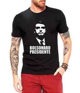 Camisa Bolsonaro Presidente 2018 Camiseta Blusa Preta - Personalizadas/ Customizadas/ Estampadas/ Camiseteria/ Estamparia/ Estampar/ Personalizar/ Customizar/ Criar/ Camisa Blusas Baratas Modelos Legais Loja Online