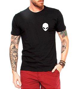 Camiseta Masculina  Et Alienígena Mini - Personalizadas/ Customizadas/ Estampadas/ Camiseteria/ Estamparia/ Estampar/ Personalizar/ Customizar/ Criar/ Camisa Blusas Baratas Modelos Legais Loja Online