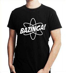 Camiseta Masculina Engraçadas Bazinga Sheldon Cooper - Personalizadas/ Customizadas/ Estampadas/ Camiseteria/ Estamparia/ Estampar/ Personalizar/ Customizar/ Criar/ Camisa Blusas Baratas Modelos Legais Loja Online