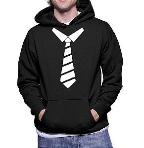 Moletom Masculino Divertido Gravata Social -  Moletons Personalizados Blusa/ Casacos Baratos/ Blusão/ Jaqueta Canguru