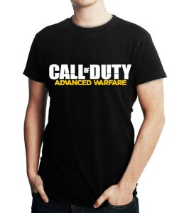 Camiseta Masculina Call Of Duty Advanced Warfare - Personalizadas/ Customizadas/ Estampadas/ Camiseteria/ Estamparia/ Estampar/ Personalizar/ Customizar/ Criar/ Camisa Blusas Baratas Modelos Legais Loja Online