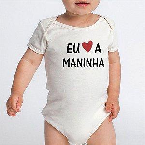 Body Bebê Frases Divertidas Amo A Maninha Irmã - Roupinhas Macacão Infantil Bodies Roupa Manga Curta Menino Menina Personalizados