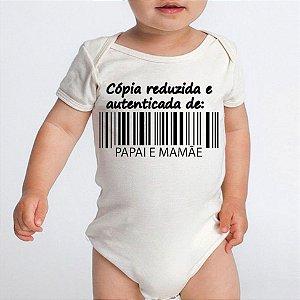 Body Bebê Frases DIvertidas Cópia Papai e Mamãe - Roupinhas Macacão Infantil Bodies Roupa Manga Curta Menino Menina Personalizados