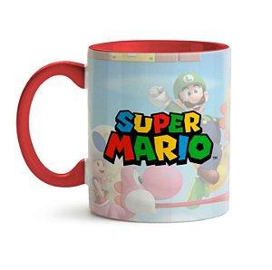 CANECA SUPER MARIO BRÓS LOGO