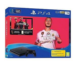 PS4 SLIM 1TB BUNDLE FIFA 20  ORIGINAL SONY