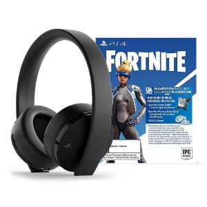 HEADSET PS4 SONY NEW GOLD PACK FORTNITE