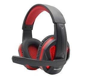 FONE HEADSET GAMER VERMELHO COM LED PARA PC/XBOX ONE/PS4/SWITCH TECDRIVE XP-1