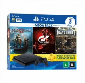 CONSOLE PS4 1TB BUNDLE HITS SONY