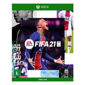 JOGO FIFA 21 XBOX ONE MÍDIA FÍSICA PRÉ-VENDA 09/10/20