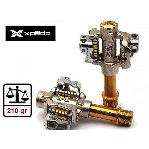 Pedal MTB Xpedo Mountain-Force  Ti / Ti