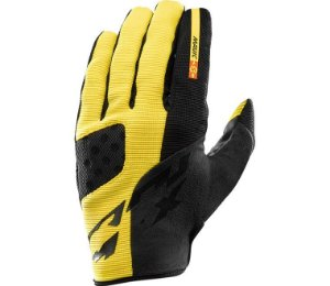 Luva Mavic Crossmax pro amarela