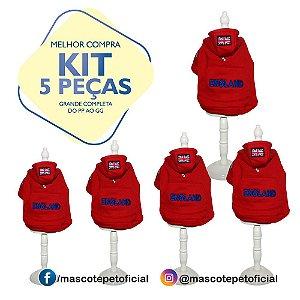 KIT 5 PEÇAS - REF. 356 Casaco Nicolas