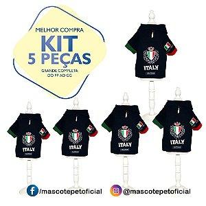 KIT 5 PEÇAS - REF. 509 Camisa Polo Mascote 05