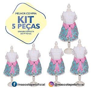 KIT 5 PEÇAS - REF. 474 Vestido Amor
